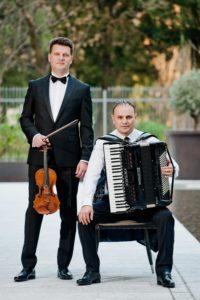 Duo: Predrag Janković (harmonika) i Miran Begić (violina